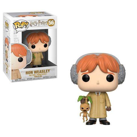 Figurine Funko Pop! N°56 - Harry Potter - S5 Ron Weasley En Herbologie