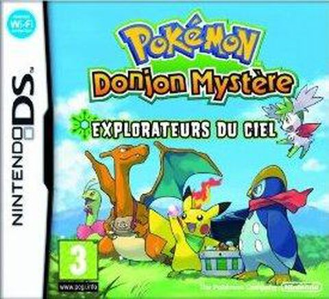 Pokemon Donjon Mystere, Explorateurs Du Ciel