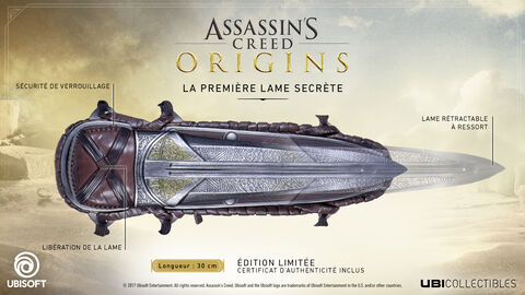 Replique - Assassin's Creed Origins - La Première Lame Secrète