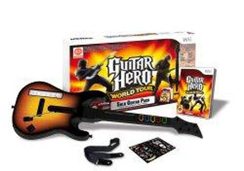 Guitar Hero, World Tour + Guitare