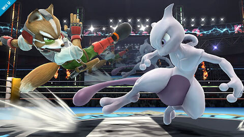 DLC - Super Smash Bros Mewtwo