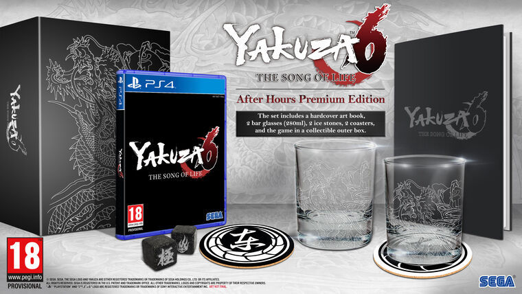 Yakuza 6 : The Song Of Life After Hours Premium Edition - Exclusivité Micromania