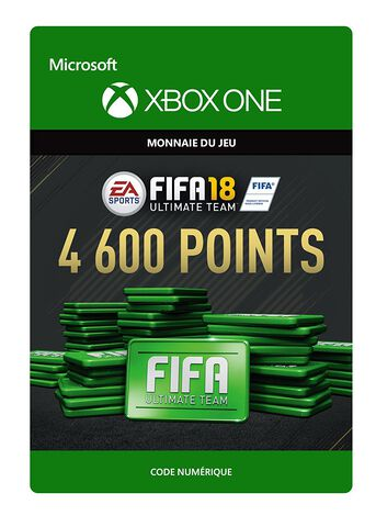 FIFA 18 Ultimate Team 4 600 Pts Xbox One