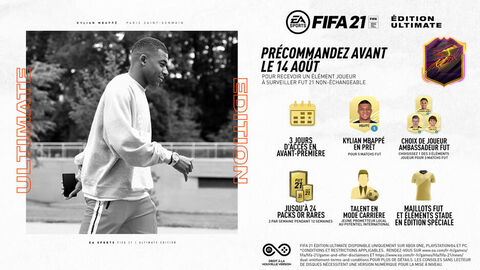 FIFA 21 Edition Ultimate (exclusivité Micromania) - Versions Xbox Series et