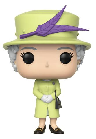 Figurine Funko Pop! N°01 - Royal W2 - Queen Elizabeth II (gr)