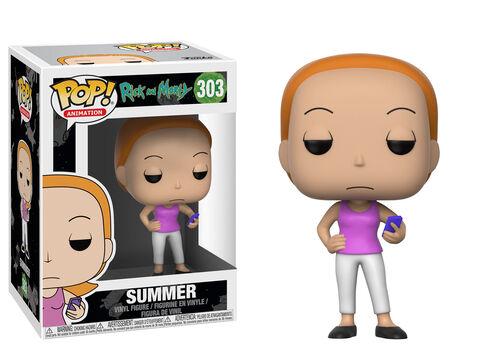 Figurine Funko Pop! N°303 - Rick Et Morty S3 - Summer