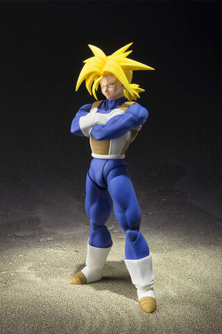 Figurine S.H.Figuarts - Dragon Ball Z - Super Saiyan Trunks 14 cm