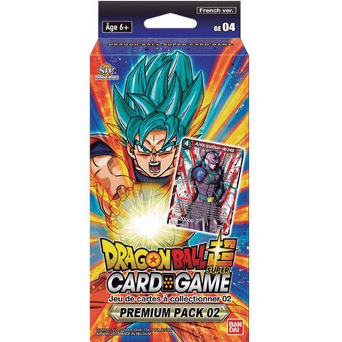 Pack Boosters - Dragon Ball Super - Premium Pack 02 Anniversary