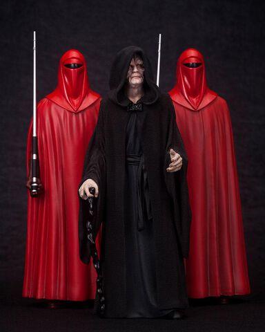 Statuette Kotobukiya - Star Wars - L'empereur Palpatine et les gardes royaux