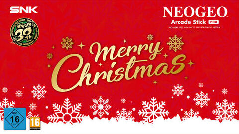 Snk Neogeo Arcade Stick Pro Christmas Edition