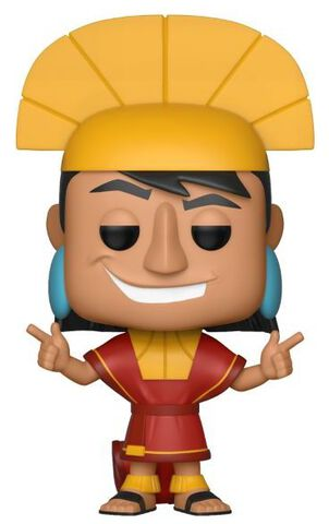 Figurine Funko Pop! N°357 - Kuzco L'Empereur Mégalo - Kuzco