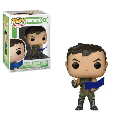 Figurine Funko Pop! N°431 - Fortnite - Highrise Assault Trooper