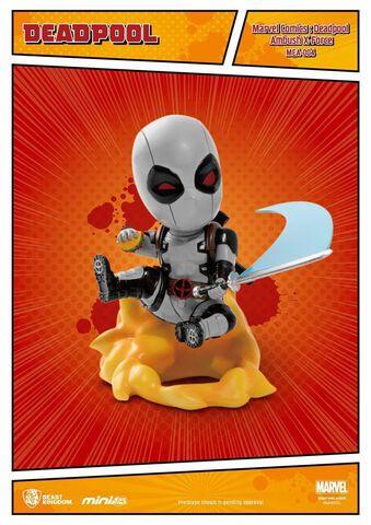 Figurine - Marvel Comics - Deadpool Mini Egg Attack Ambush X-force (Sdcc Exclusive)
