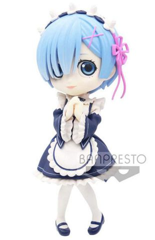 Figurine Q Posket - Re : Zero Starting Life In Another World - Rem (version B)