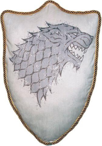 Coussin - Game Of Thrones - Blason Maison Stark 56 Cm