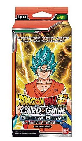 Cartes - Dragon Ball Super Card Game - Special Pack 1 Bataille Galactique