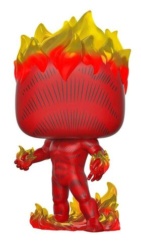 Figurine Funko Pop! N°501 - Marvel 80th : First Appearance - Torche Humaine