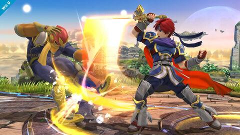 DLC - Super Smash Bros Roy (3DS / Wii U)