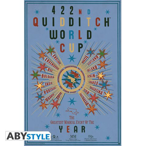 Poster - Harry Potter - Quidditch World Cup (91.5 X 61 Cm)