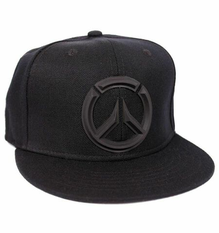 Casquette - Overwatch - Logo noir - Taille unique noir