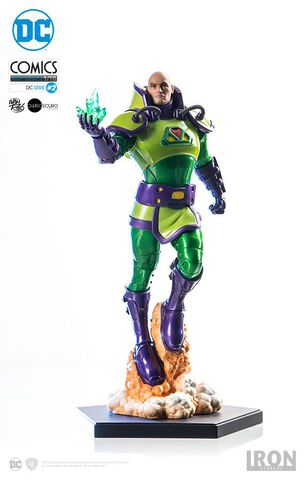 Statuette Iron Studios - Dc Comics - Lex Luthor 24 Cm