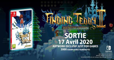 Finding Teddy 2 Definitive Edition Just Limited