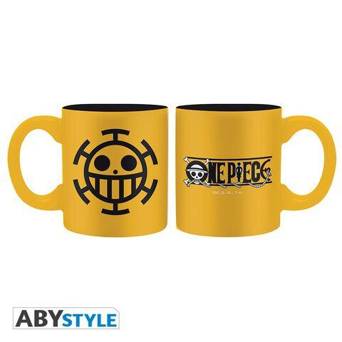 Mini-mug - One Piece - Set de 2 Emblèmes Ace et Trafalgar 110 ml