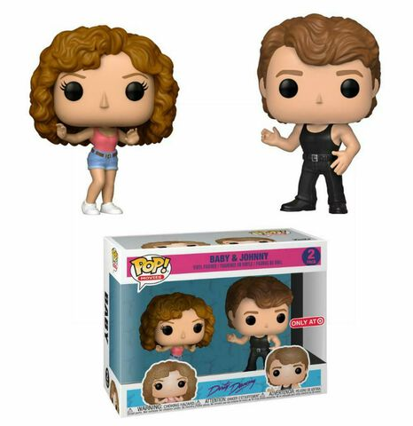 Figurine Funko Pop! N°2 - Dirty Dancing - Twin Pack Baby et Johnny