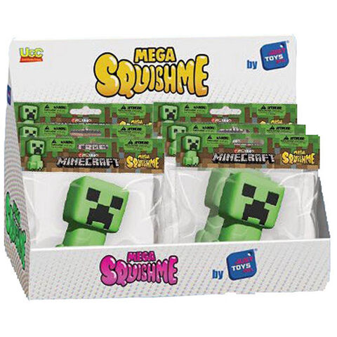 Figurine Anti-stress - Minecraft - Mega Squishme Creeper 16cm