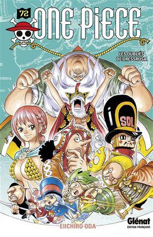 Manga - One Piece - Edition Originale Tome 72