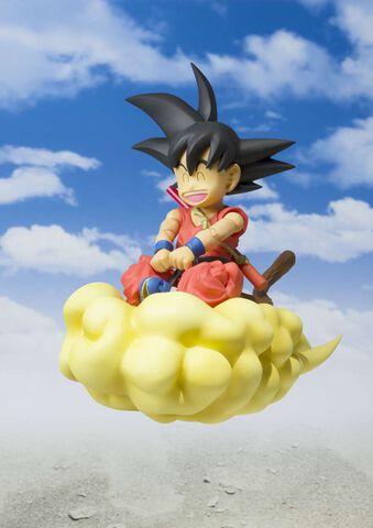 Figurine Sh Figuarts -  Dragon Ball - Goku  Enfant   Nuage