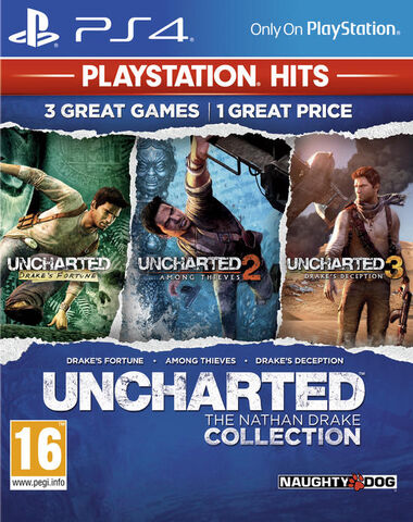 Uncharted The Nathan Drake Collection Hits