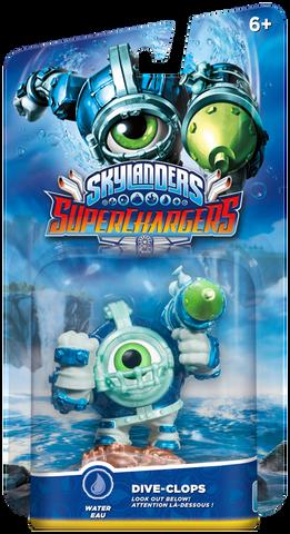 Figurine Skylanders Superchargers Dive Clops
