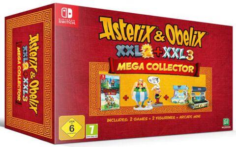 Asterix Xxl 3 Le Menhir De Cristal Edition Mega Collector
