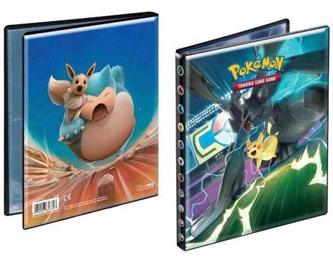 Cahier Range Cartes - Pokemon - Soleil Et Lune 9 - 80 Cartes