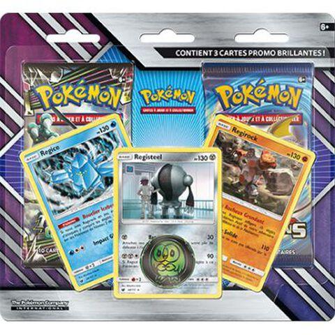 Booster - Pokémon - Pack 2 boosters + 3 cartes promo Soleil et Lune 07