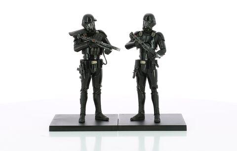 Statuette Kotobukiya Pvc Artfx  - Star Wars Rogue One - Twin Pack Death Trooper