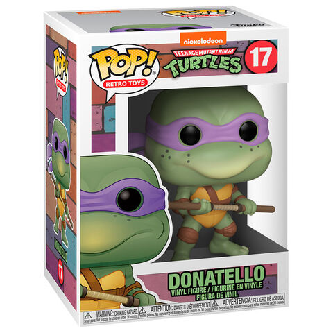 Figurine Funko Pop! N°17 - Vinyl - Tortues Ninja - Donatello