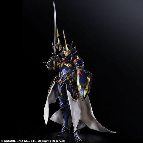 Figurine - Final Fantasy - Variant Play Arts Kai Figurine Hero Of Light 32 Cm