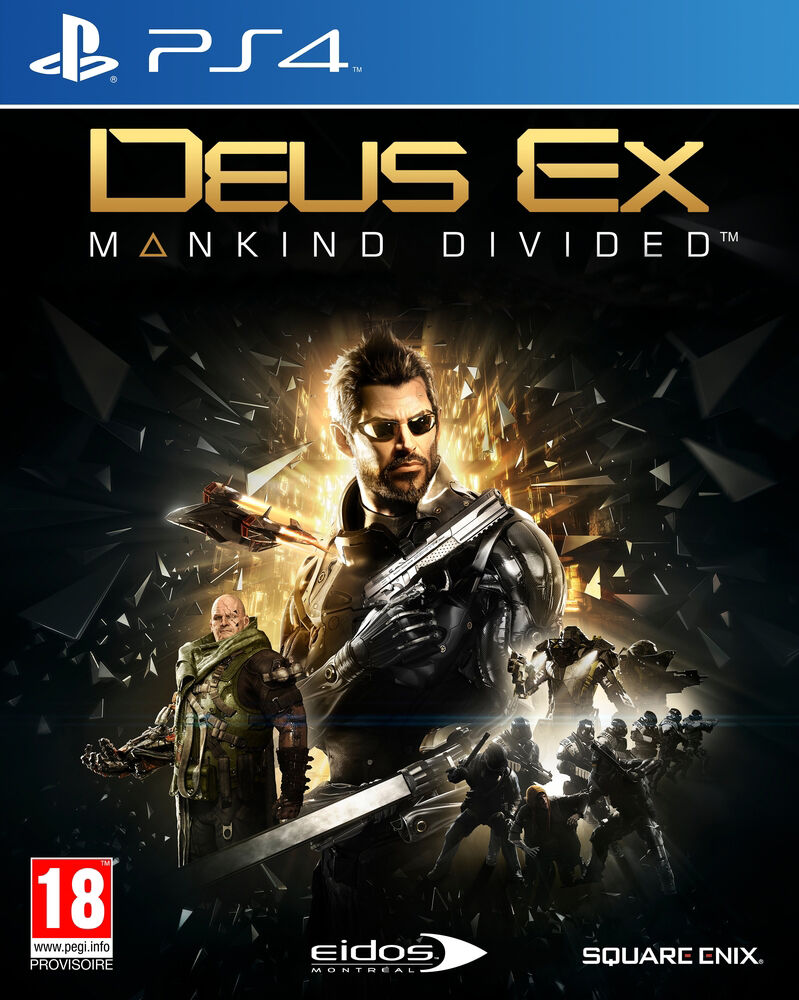Deus Ex Mankind Divided Collector PS4