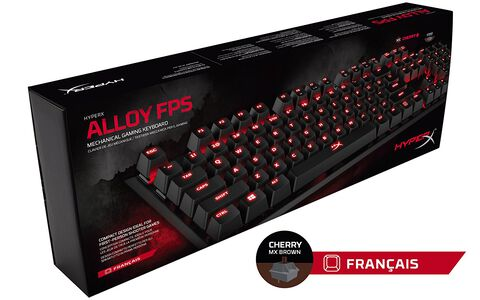 Clavier Alloy FPS Mechanical - Cherry MX Brown