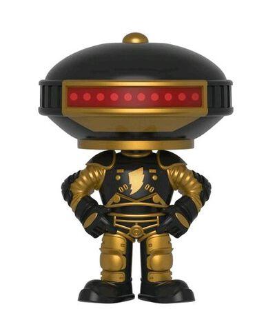 Figurine Funko Pop! N°408 - Power Rangers - Alpha 5 - 15 cm (noir et doré)