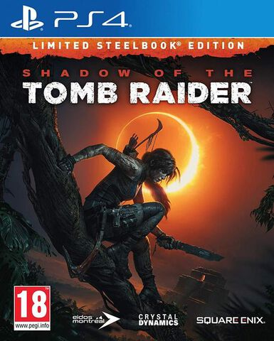 Shadow of the Tomb Raider Edition Steelbook Exclusivité Micromania