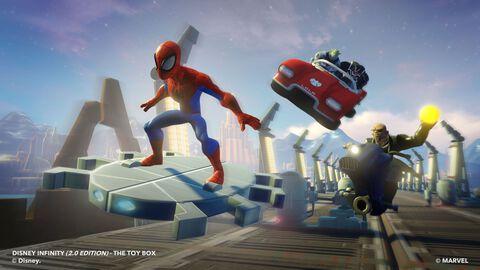 Figurine Disney Infinity 2.0 Nick Fury Marvel Super Heroes