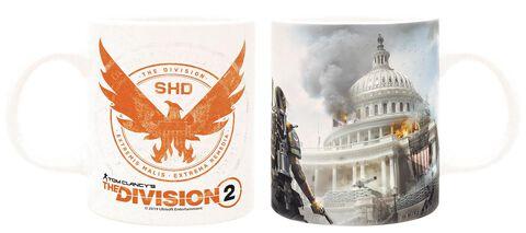 Mug - The Division 2 - Blanc Capitole 320 ml - Exclusivité Micromania-Zing