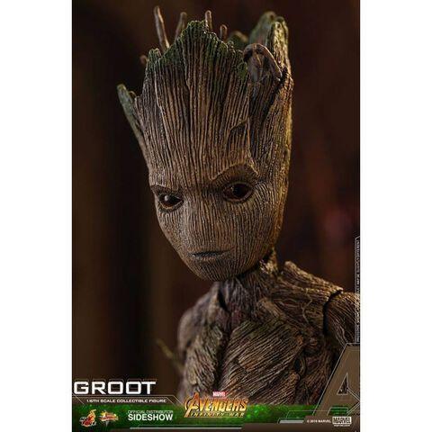 Figurine Hot Toys - Avengers Infinity War - Groot 1/6