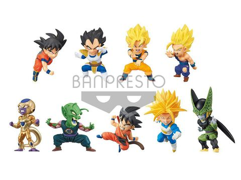 Figurine Mystère Wcf - Dragon Ball Super - Battle Special