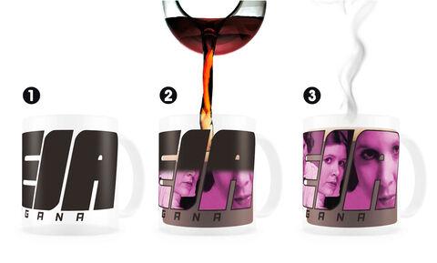 Mug - Star Wars - Thermo-sensible Leia