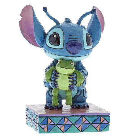 Figurine Disney Tradition - Lilo et Stitch - Stitch avec Frog
