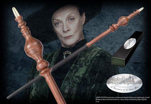 Réplique - Harry Potter - Baguette du Professeur Minerva Mcgonagall